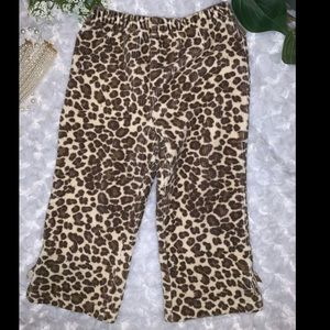 Baby Girl Leopard 🐆 Print Pants Size 18 Months